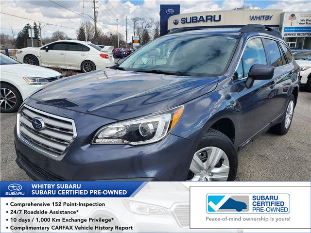 2017 Subaru Outback 2.5i (Stk: 20S374A) in Whitby - Image 1 of 23