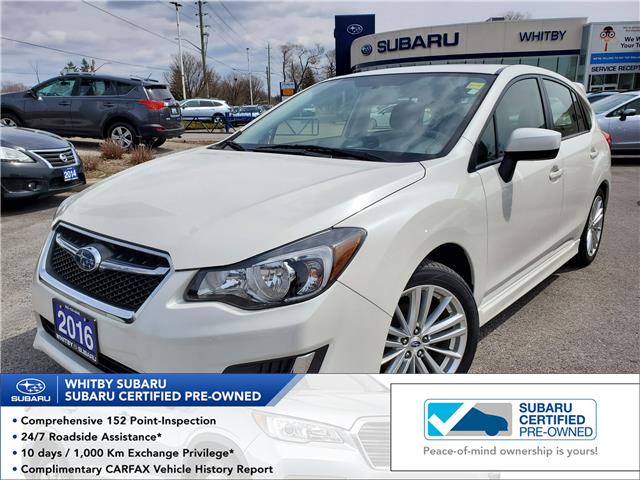 2016 Subaru Impreza 2.0i Sport Package (Stk: 20S198A) in Whitby - Image 1 of 24