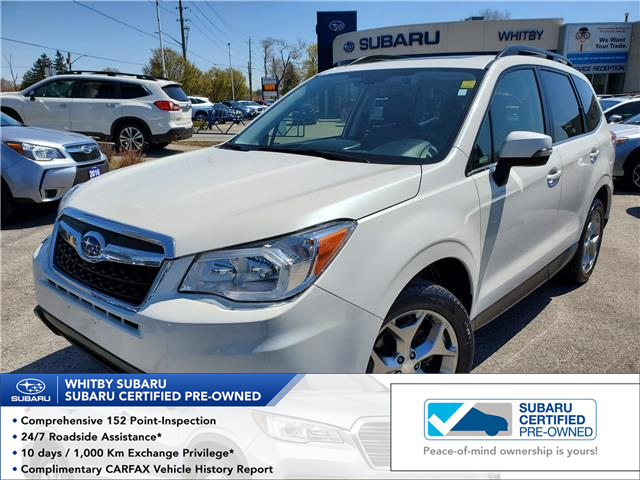2016 Subaru Forester 2.5i Limited Package (Stk: U3855LD) in Whitby - Image 1 of 27