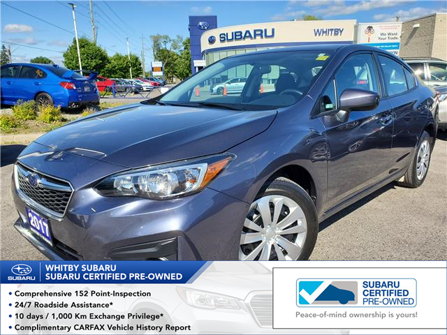 2017 Subaru Impreza Convenience (Stk: 20S588A) in Whitby - Image 1 of 18