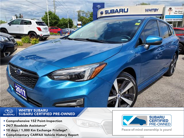 2017 Subaru Impreza Sport-tech (Stk: 20S768A) in Whitby - Image 1 of 20