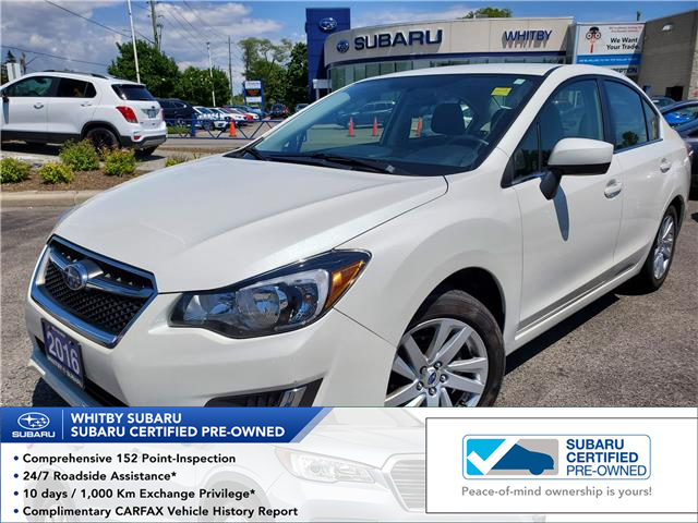 2016 Subaru Impreza 2.0i Touring Package (Stk: 20S674A) in Whitby - Image 1 of 18