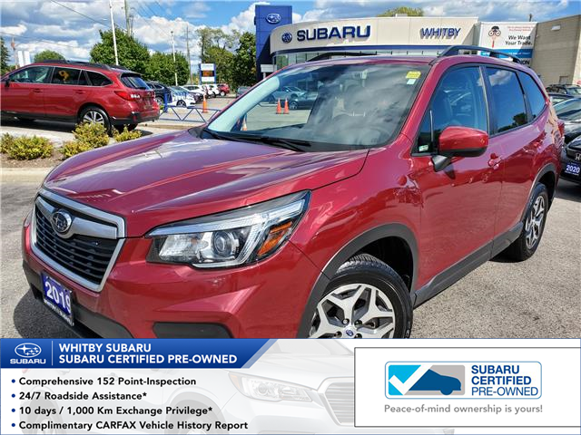 2019 Subaru Forester 2.5i Convenience (Stk: 20S760A) in Whitby - Image 1 of 18