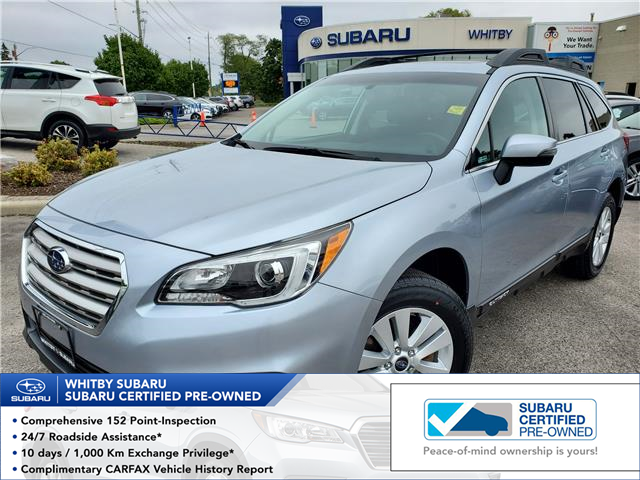 2017 Subaru Outback 3.6R Touring (Stk: U3981LD) in Whitby - Image 1 of 20