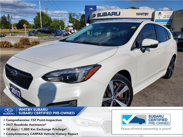 2017 Subaru Impreza Sport-tech (Stk: 20S623A) in Whitby - Image 1 of 19
