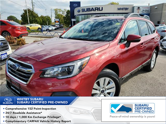 2018 Subaru Outback 3.6R Touring (Stk: 21S19A) in Whitby - Image 1 of 20