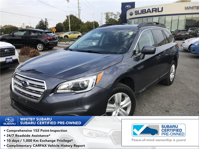 2017 Subaru Outback 2.5i (Stk: 20S1126A) in Whitby - Image 1 of 2