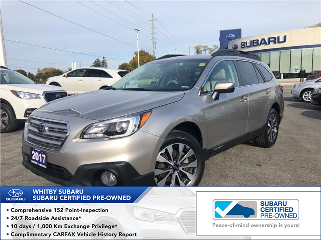 2017 Subaru Outback 2.5i Limited (Stk: 20S643A) in Whitby - Image 1 of 1