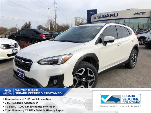 2018 Subaru Crosstrek Limited (Stk: 21S40A) in Whitby - Image 1 of 1