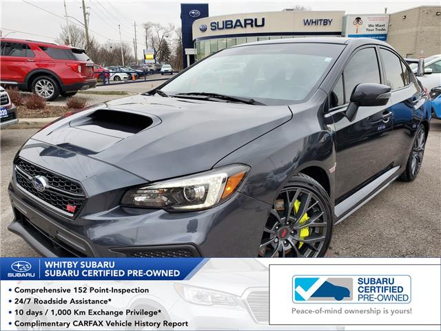 2019 Subaru WRX STI Sport-tech w/Wing (Stk: 20S1174A) in Whitby - Image 1 of 21