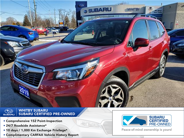 2019 Subaru Forester 2.5i Convenience (Stk: U4077P) in Whitby - Image 1 of 19
