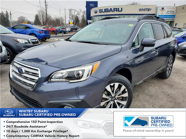 2017 Subaru Outback 2.5i Limited (Stk: 20S1133A) in Whitby - Image 1 of 20