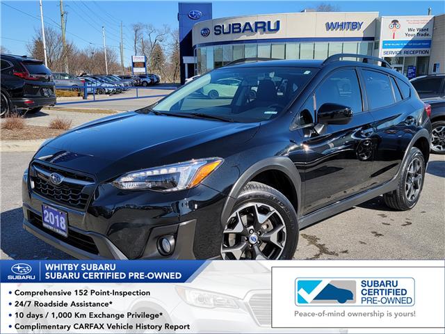 2018 Subaru Crosstrek Sport (Stk: U4121LD) in Whitby - Image 1 of 20