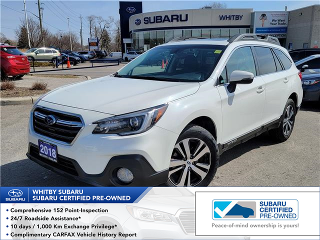 2018 Subaru Outback 2.5i Limited (Stk: U4129LD) in Whitby - Image 1 of 9
