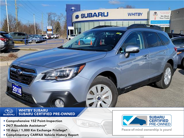 2018 Subaru Outback 2.5i Touring (Stk: 21S343A) in Whitby - Image 1 of 14