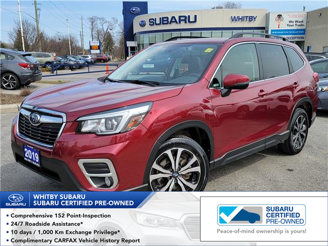 2019 Subaru Forester 2.5i Limited (Stk: 21S369A) in Whitby - Image 1 of 21