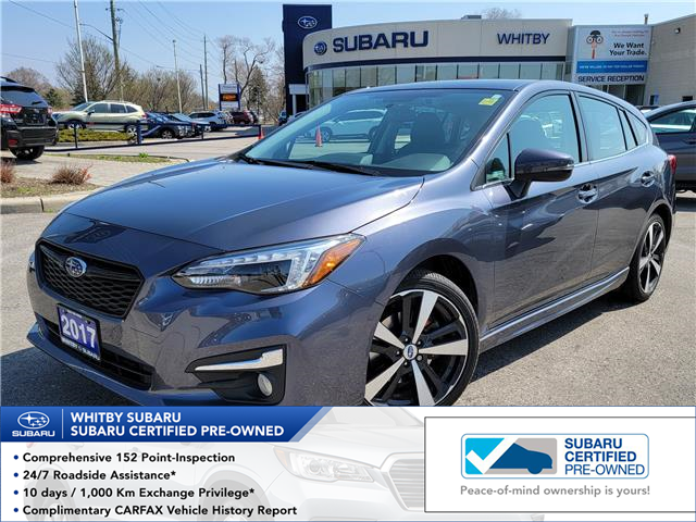 2017 Subaru Impreza Sport-tech (Stk: 21S477AA) in Whitby - Image 1 of 15