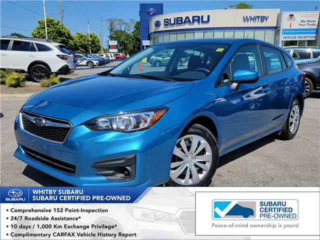 2019 Subaru Impreza Convenience (Stk: 21S661A) in Whitby - Image 1 of 18