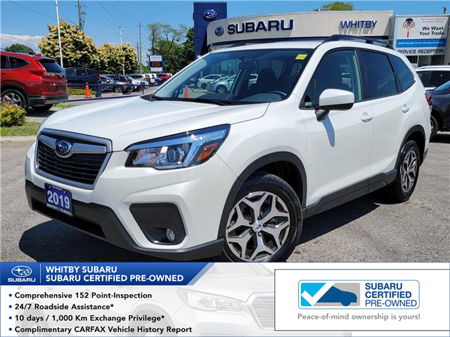2019 Subaru Forester 2.5i Convenience (Stk: 21S595A) in Whitby - Image 1 of 19