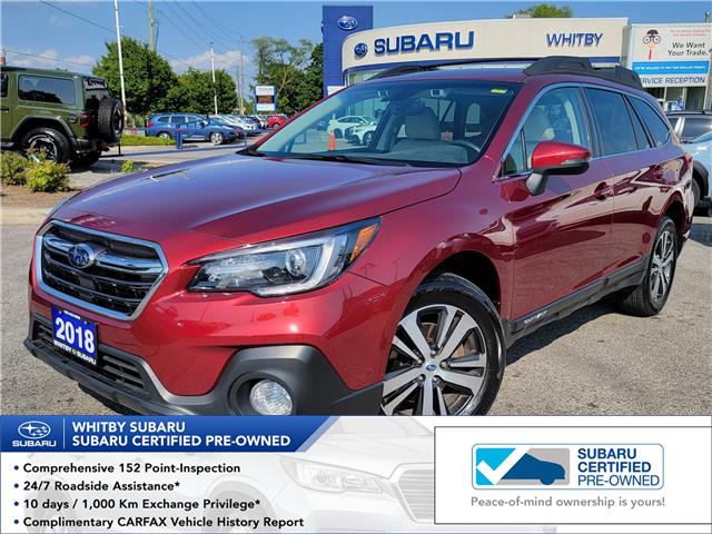 2018 Subaru Outback 2.5i Limited (Stk: U4225LD) in Whitby - Image 1 of 9