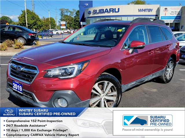 2019 Subaru Outback 2.5i Limited (Stk: 22S59A) in Whitby - Image 1 of 8