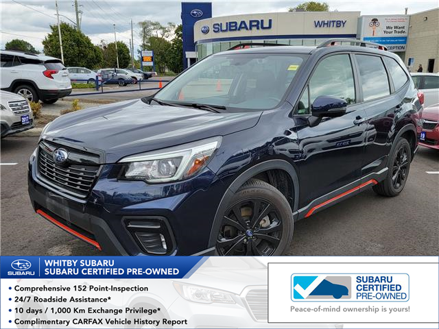 2019 Subaru Forester 2.5i Sport (Stk: 22S54A) in Whitby - Image 1 of 8