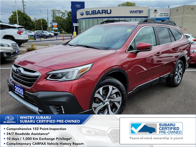 2020 Subaru Outback Limited XT (Stk: 22S40A) in Whitby - Image 1 of 21