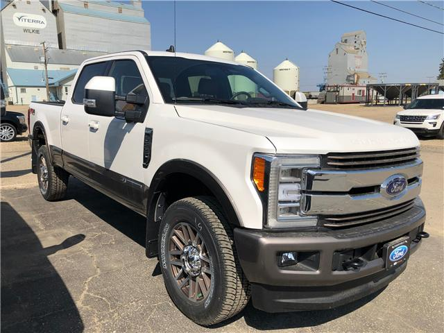 2019 Ford F-350 King Ranch (Stk: 9181) in Wilkie - Image 1 of 11