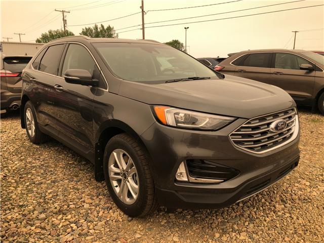 2019 Ford Edge SEL (Stk: 9166) in Wilkie - Image 1 of 11