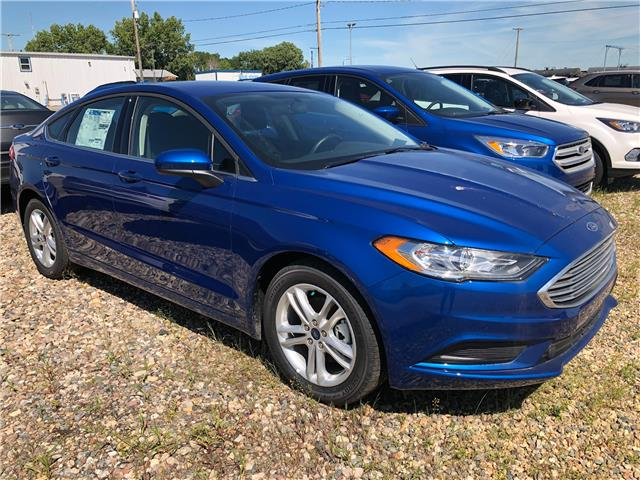 2018 Ford Fusion SE (Stk: 8261) in Wilkie - Image 1 of 11