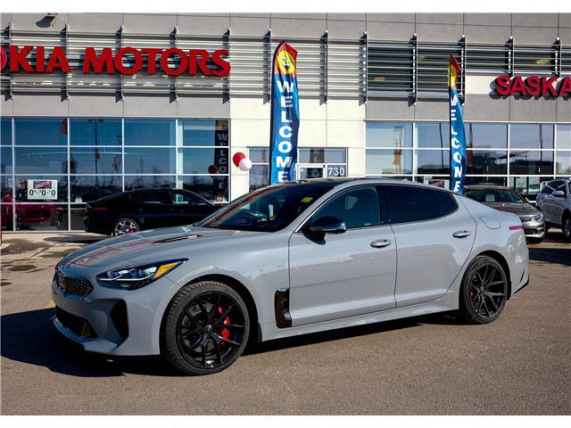 2018 Kia Stinger GT Limited (Stk: P4541) in Saskatoon - Image 1 of 22