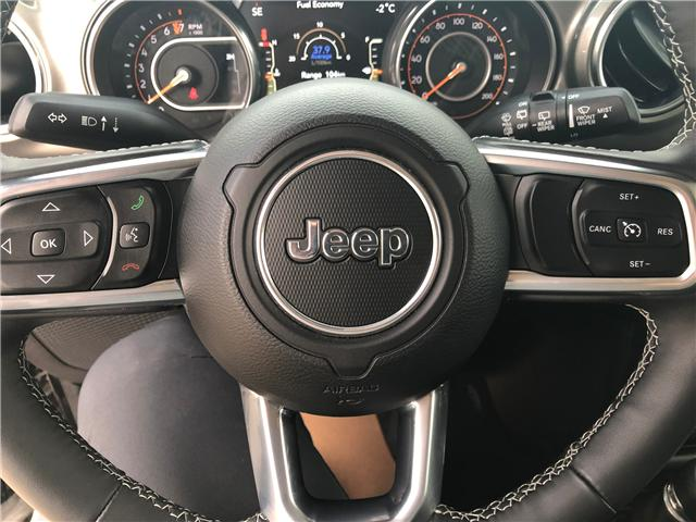 2018 Jeep Wrangler Unlimited Sahara (Stk: T19-68A) in Nipawin - Image 12 of 25