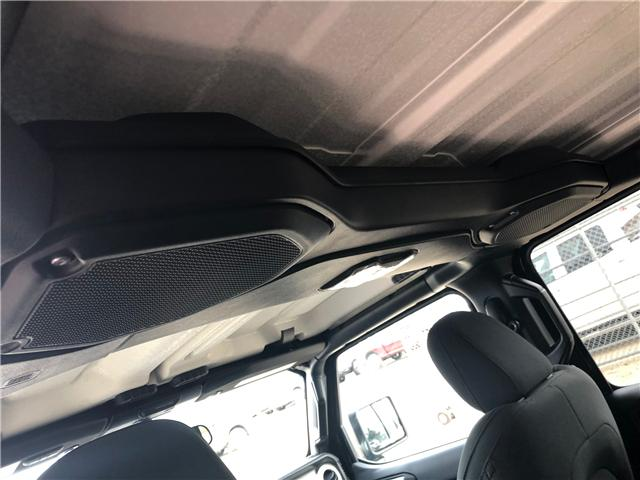 2018 Jeep Wrangler Unlimited Sahara (Stk: T19-68A) in Nipawin - Image 19 of 25