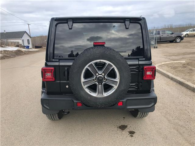 2018 Jeep Wrangler Unlimited Sahara (Stk: T19-68A) in Nipawin - Image 21 of 25