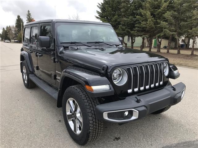 2018 Jeep Wrangler Unlimited Sahara 1C4HJXEG9JW291188 T19-68A in Nipawin