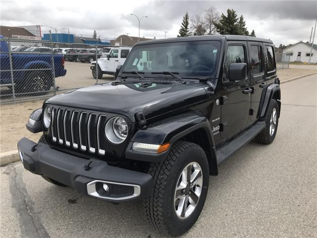 2018 Jeep Wrangler Unlimited Sahara (Stk: T19-68A) in Nipawin - Image 3 of 25