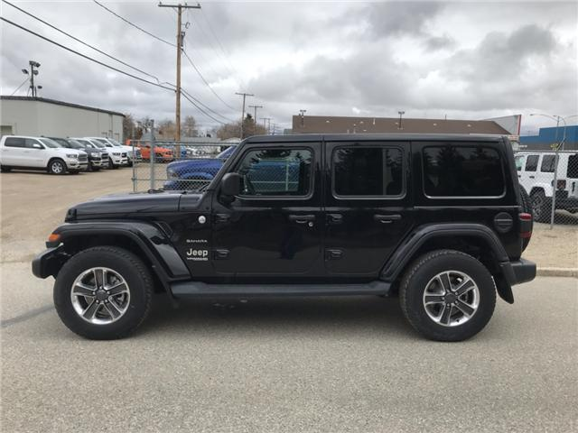 2018 Jeep Wrangler Unlimited Sahara (Stk: T19-68A) in Nipawin - Image 4 of 25