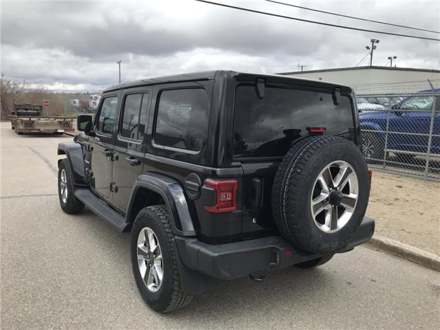 2018 Jeep Wrangler Unlimited Sahara (Stk: T19-68A) in Nipawin - Image 20 of 25