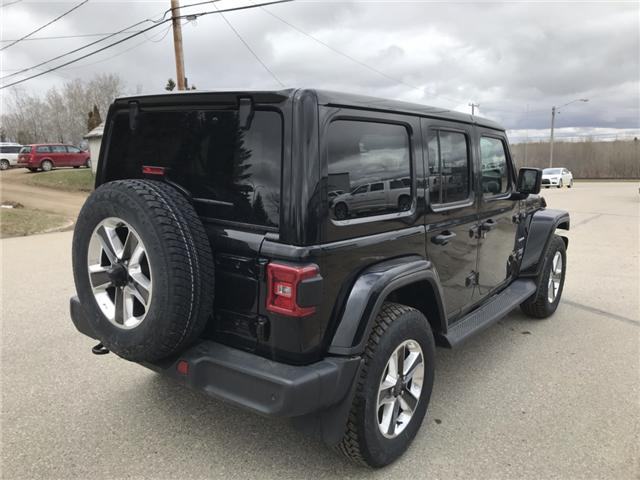 2018 Jeep Wrangler Unlimited Sahara (Stk: T19-68A) in Nipawin - Image 22 of 25