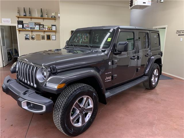 2019 Jeep Wrangler Unlimited Sahara (Stk: T19-230) in Nipawin - Image 1 of 17