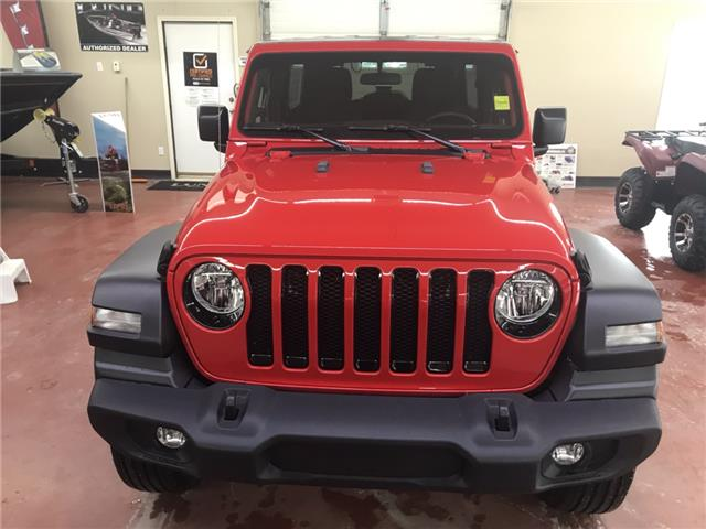 2020 Jeep Wrangler Unlimited Sport (Stk: T20-58) in Nipawin - Image 2 of 19
