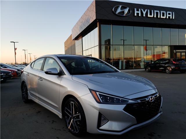 2019 Hyundai Elantra Sport (Stk: 29180) in Saskatoon - Image 1 of 19