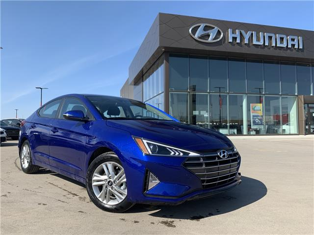 2020 Hyundai Elantra Preferred w/Sun & Safety Package (Stk: 30163) in Saskatoon - Image 1 of 19