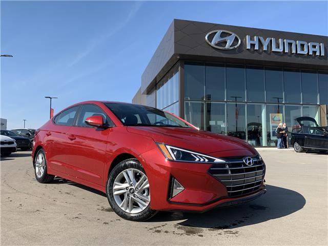 2020 Hyundai Elantra Preferred w/Sun & Safety Package (Stk: 30289) in Saskatoon - Image 1 of 19