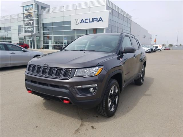 2018 Jeep Compass Trailhawk (Stk: A4006) in Saskatoon - Image 1 of 21