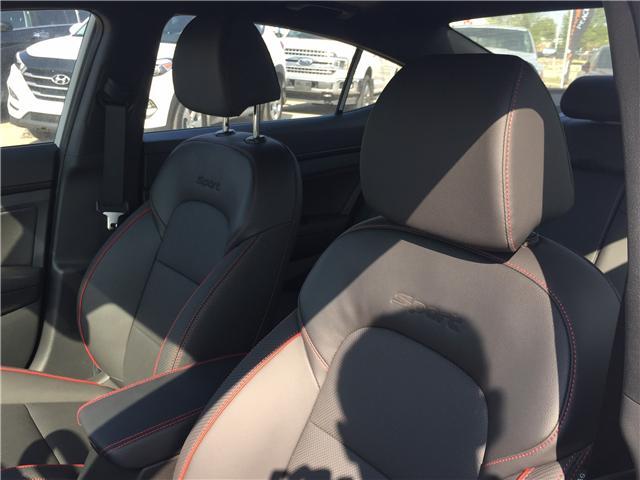 2019 Hyundai Elantra Sport (Stk: 39228) in Saskatoon - Image 14 of 27