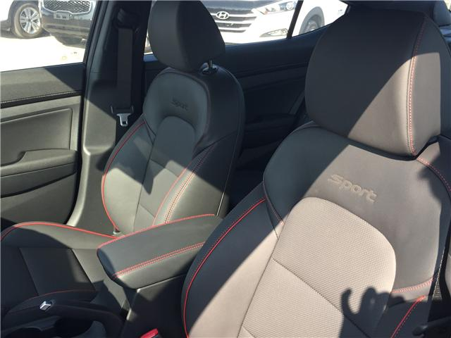 2019 Hyundai Elantra Sport (Stk: 39232) in Saskatoon - Image 14 of 26