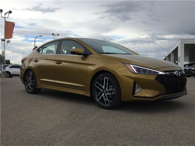 2019 Hyundai Elantra Sport (Stk: 39231) in Saskatoon - Image 1 of 26