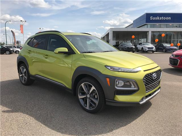 2020 Hyundai Kona 1.6T Ultimate w/Lime Colour Pack (Stk: 40207) in Saskatoon - Image 1 of 20
