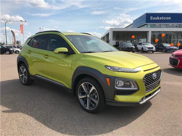2020 Hyundai Kona 1.6T Ultimate w/Lime Colour Pack (Stk: 40206) in Saskatoon - Image 1 of 20